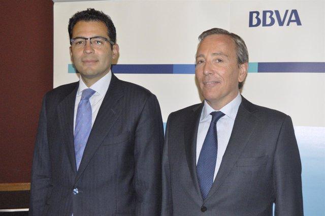 Miguel Cardoso y Luis Llorens (BBVA).