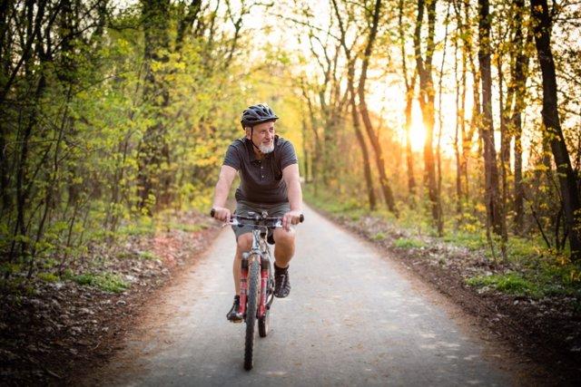 Bicicleta, hombre