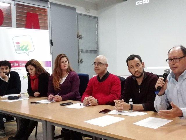 Reunión entre Participa e IU