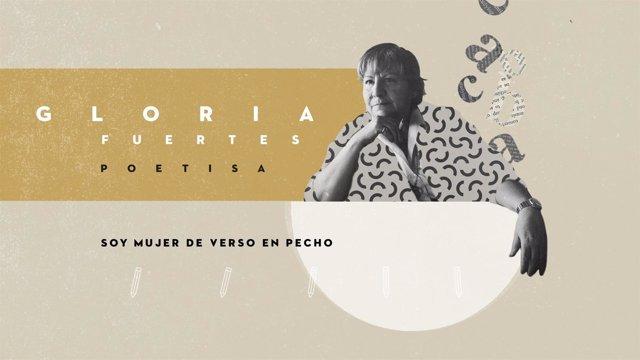 Gloria Fuertes en Telemadrid
