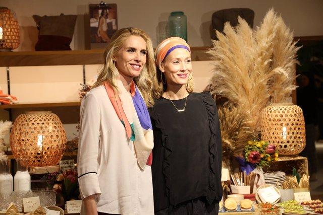 Judit Mascó presenta un pañuelo solidario contra el cáncer