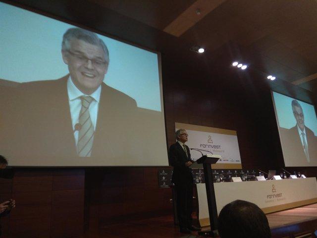 Sebastián Albella. Presidente CNMV en Forinvest