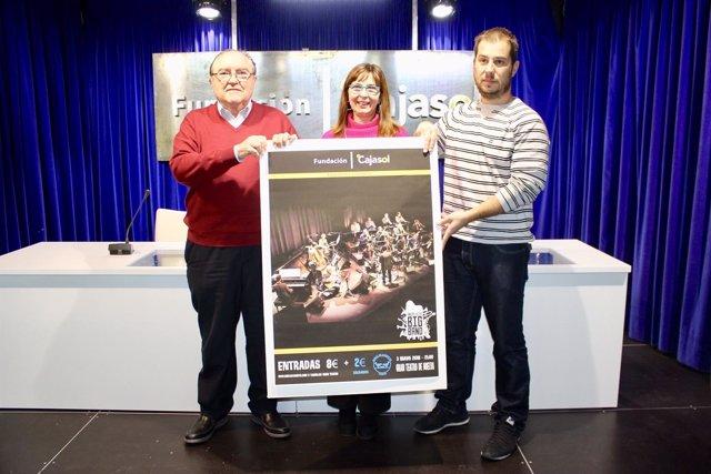 Presentan el concierto de la Andalucía Big Band en Huelva.