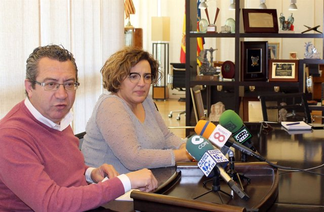 Toni Pérez en la presentación del proyecto