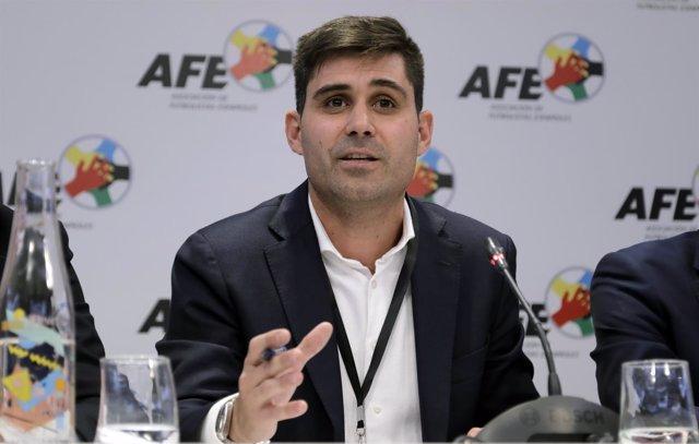 David Aganzo, nuevo presidente de la AFE
