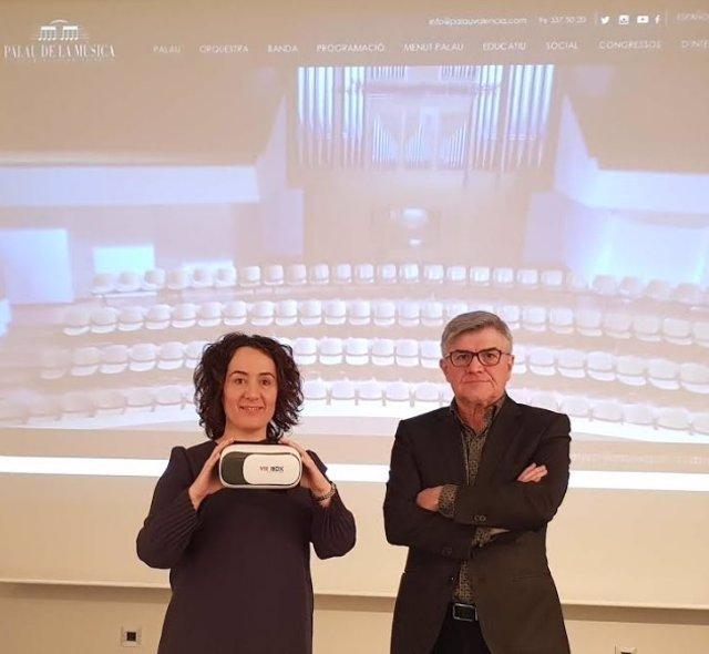 Presentación de la nueva web del Palau de la Música de València