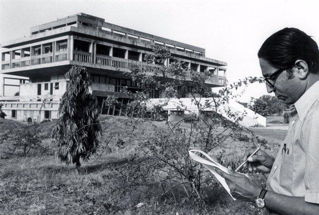 El arquitecto Balkrishna Doshi, premio Pritzker 2018