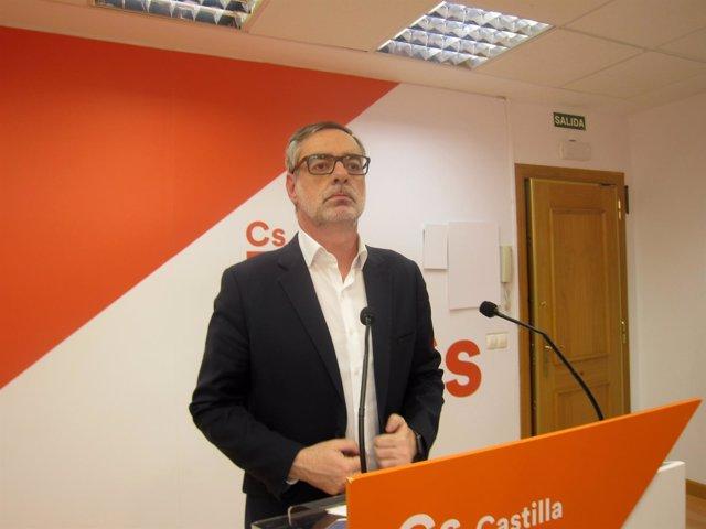 José Manuel Villegas, secretario general de Cs.