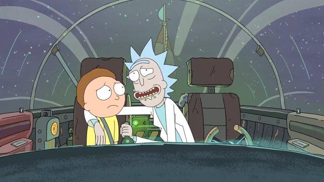 Tres Temporadas De Rick Y Morty Al Completo, En TNT
