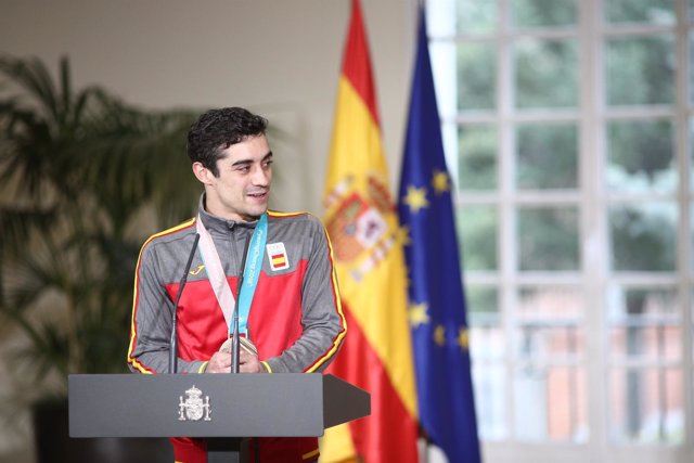 Javier Fernández, patinador olímpico español