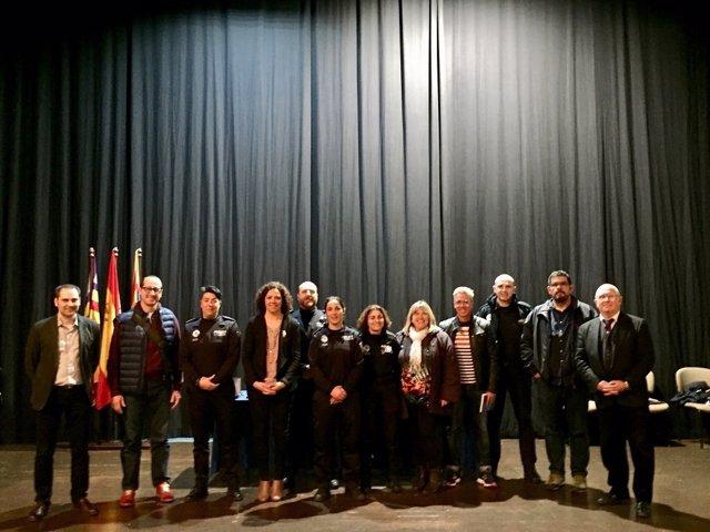 Presentación de la memoria de policías tutor en Menorca