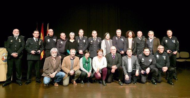 Entrega de cruces al mérito policial en Menorca