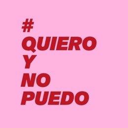 Campaña de mujeres #quieroynopuedo