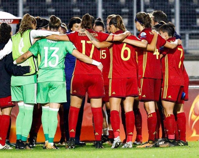 La selección española femenina de fútbol