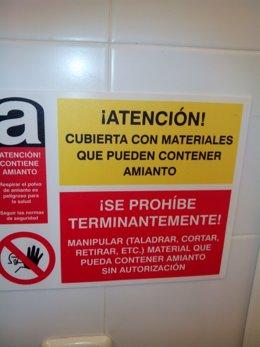 Una de las notas informativas en Metro sobre presencia de amianto