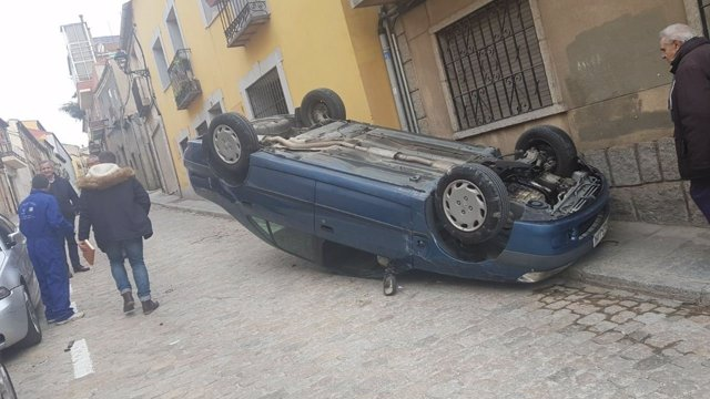 Accidente en Ávila