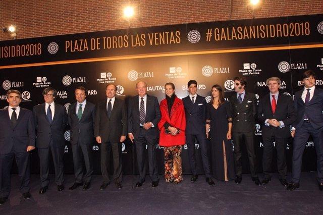 El Rey Juan Carlos, premio Embajador Universal de la Tauromaquia