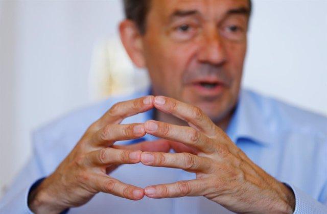 El presidente del CICR, Peter Maurer