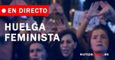 Foto: Así ha transcurrido la huelga feminista en toda España