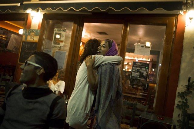 Ovil, refugiada transexual