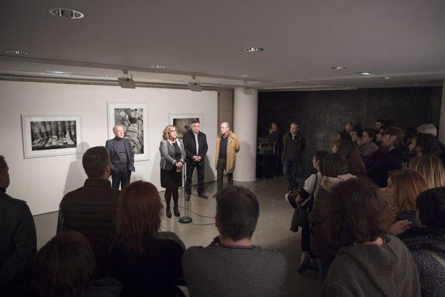 Inauguración exposición de Gervasio Sánchez en la DPH