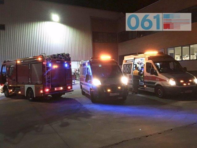 Actuación de los servicios de emergencia