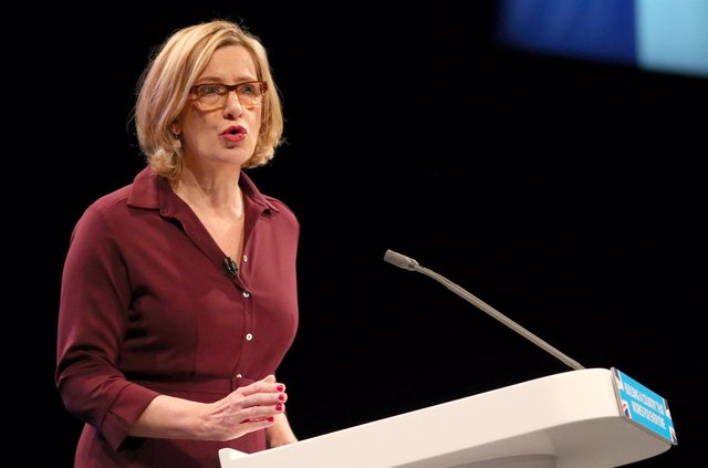 Amber Rudd, ministra del Interior británica