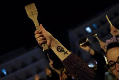 Fotos y vídeos de la huelga feminista