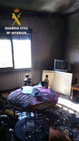 Incendio en Guadalupe