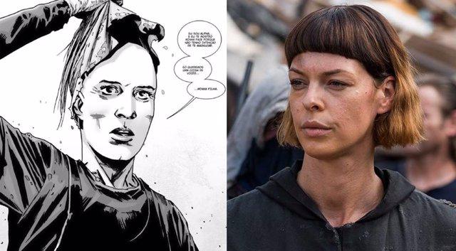 Será Jadis Alpha en The Walking Dead