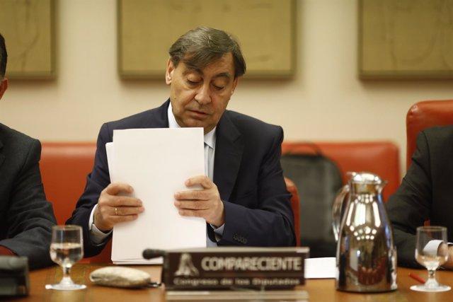 El fiscal general del Estado, Julián Sánchez Melgar, en el Congreso