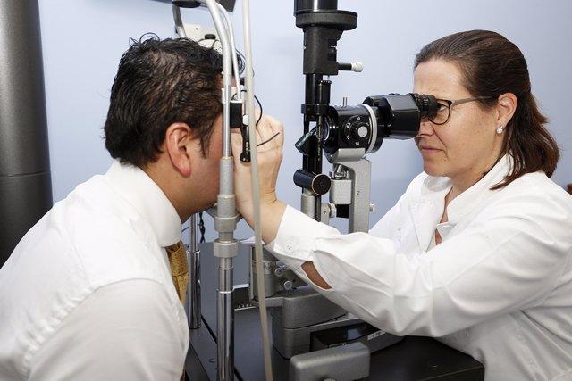 Glaucoma, vista, revisión, oculista