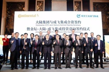 Continental y CITC fabricarán baterías de 48 voltios mediante una 'joint venture' en China