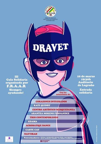 El Auditorio Municipal acoge este sábado una gala solidaria en favor de la Fundación Síndrome de Dravet