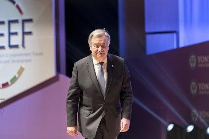 """Guterres subraya que la igualdad no es """"un favor a las mujeres"""" sino Derechos Humanos"""