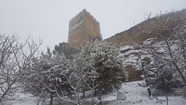 Fotos Temporal Nieve En Cinco Villas Aragón