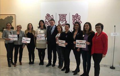 """Puig acusa a Rajoy de venir a València de """"turismo partidista"""" y """"boicoteando una huelga justa por la igualdad"""""""