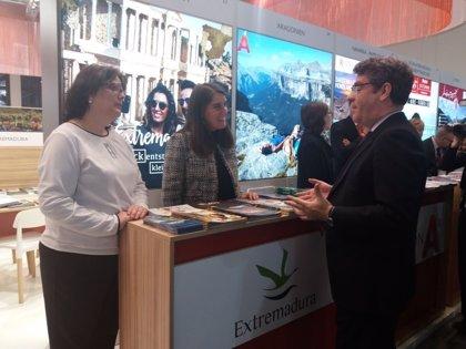 Extremadura ofrece en la feria turística ITB Berlín sus alternativas a los circuitos turísticos tradicionales