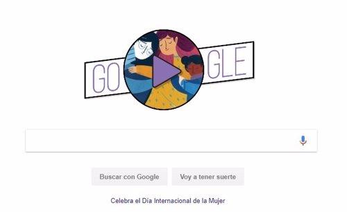 Día Internacional de la Mujer en Google