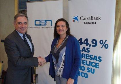 CaixaBank y la CEN amplían la línea de financiación a 800 millones para competitividad