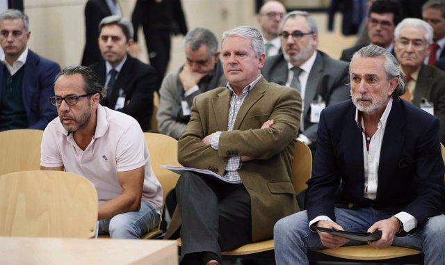 Álvaro Pérez Alonso 'El Bigotes', Pablo Crespo y Francisco Correa
