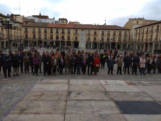 Acto institucional en Palencia