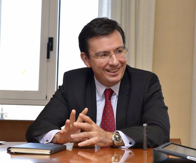 El presidente del ICO, Román Escolano