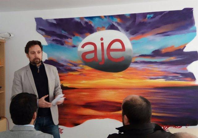 Enrique de Hoyos presidente de AJE Málaga empresarios emprendedores