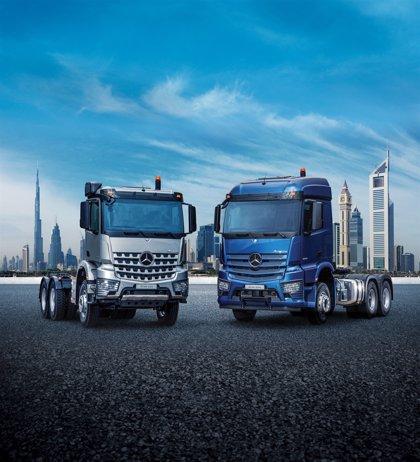 Daimler pone a la venta en Oriente Medio y África los camiones Mercedes-Benz Actros y Arocs