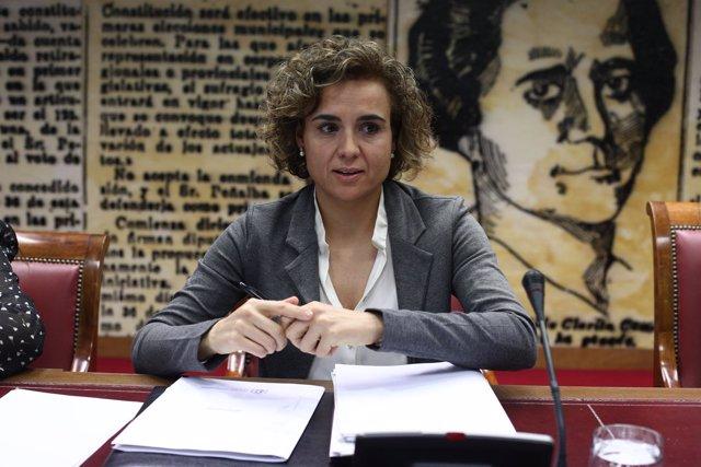 Dolors Montserrat comparece en la Comisión de Derechos de la Familia del Senado
