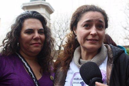 """IULV-CA destaca el """"éxito"""" de la huelga porque las mujeres """"no se resignan a que las cosas sigan como hasta ahora"""""""