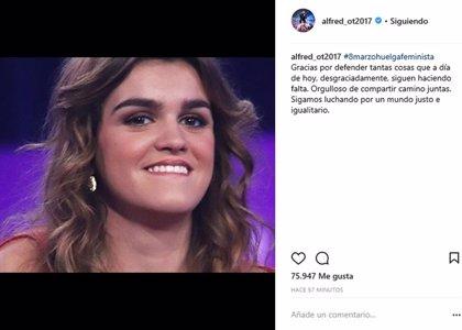 Alfred felicita el Día de la Mujer con una imagen de Amaia