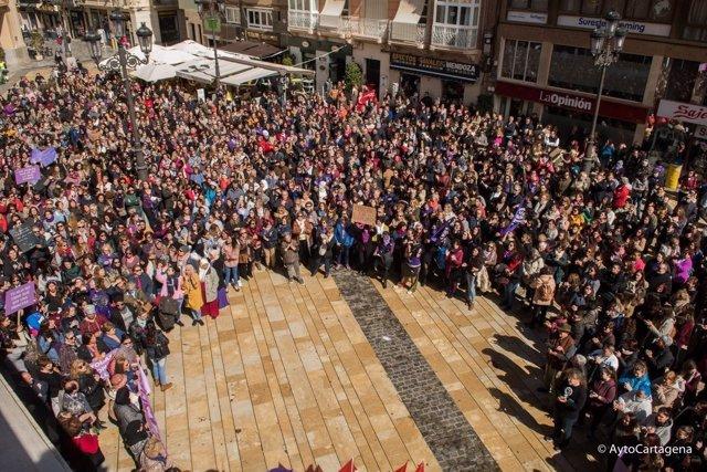 Marcha Día Internacional de la Mujer CARTAGENA