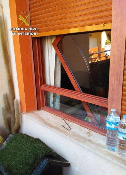 Guardia Civil desmantela en Fuente Álamo un grupo juvenil dedicado a la comisión de robos en viviendas